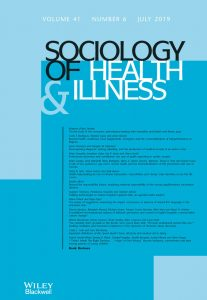 Sociology of Health & Illness Monograph